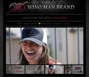 Case Study: <br>wing man brand