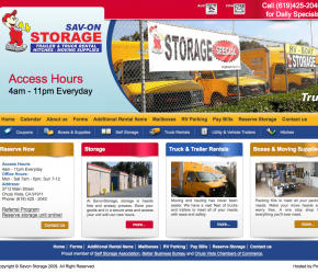 Case Study: <br> Savon Storage