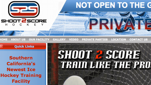 Case Study: <br>Shoot 2 Score Hockey